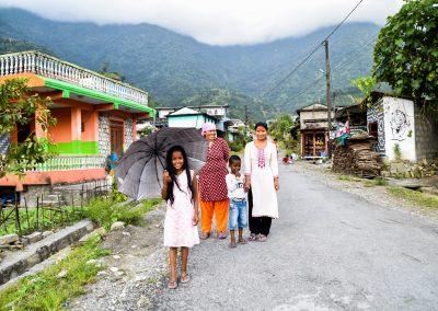 Walk through the village