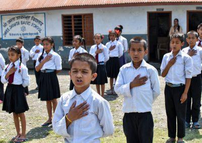 Morning prayers for Nepal