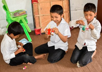 Learning English through play