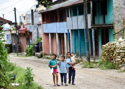 Kids on the Pame street